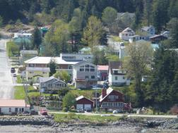 Houses in Juneau as seen from NCL Pearl cruise ship.jpg