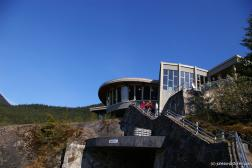 Mendenhall Glacier visitor center.jpg