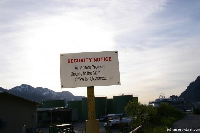 Security Notice sign at the Juneau pier.jpg