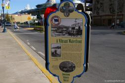 A vibrant Waterfront sign in Juneau Alaska.jpg